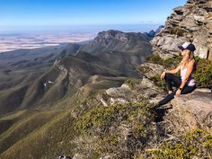 Sitting on top of the world, with my head in the clouds! Bluff Knoll is the highest peak of south west WA - I can now add 'mountain climber' to my resume! Mountain Climbers, Mountain S, Sit On Top, Sea Level, Top Of The World, Stand Tall, Sky High, Grand Canyon, Hiking