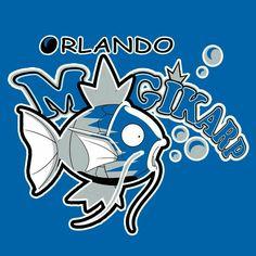 NBA Pokémon Logo: Orlando Magikarp