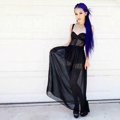 Cute goth style!