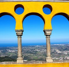 """Views of the Atlantic Ocean in the distance #Sintra #PenaPalace #Pena #Atlantic 😍 #Lisbon #Lisboa #Portugal #travel #travelbug #travelpics #travelpic #travelphotography #travelgram #instatravel #wanderlust #globetrotter #europe"" by (zhennifu5). instatravel #penapalace #lisbon #sintra #travelphotography #travelbug #globetrotter #pena #wanderlust #atlantic #lisboa #travel #travelpics #portugal #travelgram #europe #travelpic. [Follow us on Twitter at www.twitter.com/MICEFXsolutions for…"