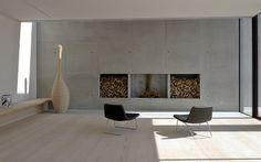 Dinesen Wood Floors & concrete