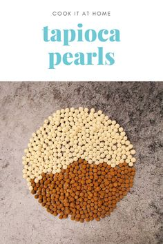 How to Cook Tapioca Pearls Bubble Tea Pearls, Bubble Tea Flavors, Thai Milk Tea, Pearl Tea, Tapioca Pearls, Simply Filling, Few Ingredients, Learn To Cook, Simple Syrup