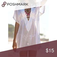Solid See-Thru Cover Up Brand New 🔥 Flowy, thin material Swim Coverups