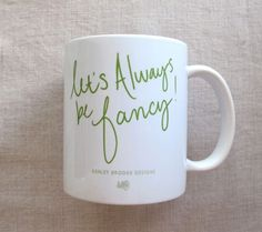 Fancy Coffee Mug