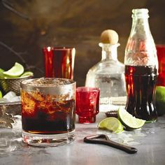 It just takes five minutes to make this splashy Mexican-inspired Tequila and lime cola cocktail. Visit Chatelaine.com for more unique cocktail recipes!