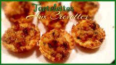 Tartelettes aux crevettes.   Noël Réveillon fêtes de fin d'année.  http://youtu.be/kO80XyLFXk0?list=UU8HgrsWBMnhAfgqbJQJjZ7w