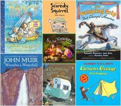 Picture books about camping
