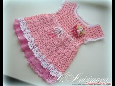 Crochet Patterns| for free |crochet baby dress| 1469