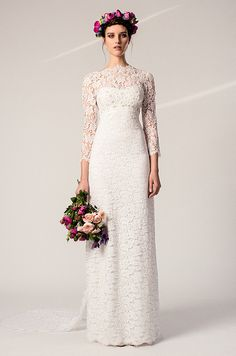 It's been a very long time since bridal designers have focused so intently on something as utilitarian as the sleeve, but the stars aligned in the style universe and suddenly sleeves became one of the most important new details to look for in a wedding dress. Typically wedding gowns have a basic b