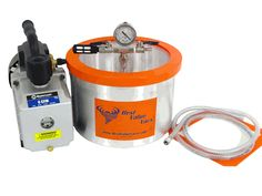 2 Gallon Vacuum Chamber w/ Mastercool Lathe Projects, Wood Projects, Resin Tutorial, Vacuum Forming, Vacuum Pump, Homemade Tools, How To Make Necklaces, Mold Making