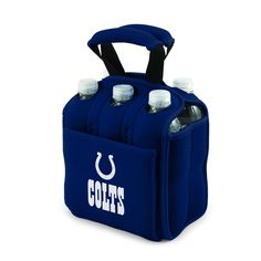 AFC Indianapolis Colts Six Pack Cooler Tote Heavy Duty Beverage Carrier #FootballSeason