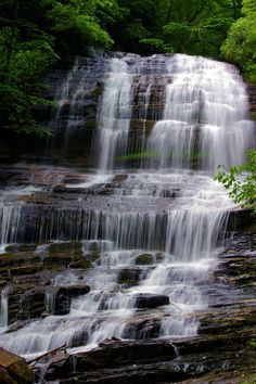 Pearson's Falls near Tryon and Saluda, North Carolina