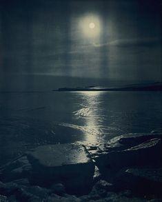 "Herbert Ponting ~ ""The Freezing of the Sea,"" 1911"