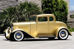 Car Obsessed — 1932 Ford 5-Window Coupe - Hot Rod