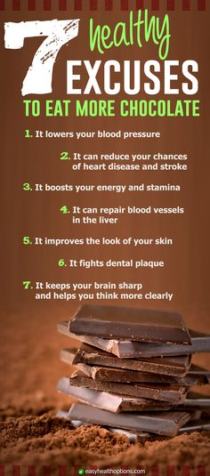 There are 7 healthy reasons to choose from, but do you really need an excuse to eat more chocolate? Source by easyhealth Dark Chocolate Benefits, Dark Chocolate Nutrition, Chocolate Chocolate, Cacao Health Benefits, Healthy Life, Healthy Living, Natural Cancer Cures, Health Options, Cancer Fighting Foods