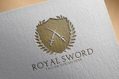 Check out Royal Sword Logo by samedia on Creative Market