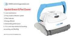 Aquabot Breeze IQ is an energy efficient pool cleaner which consumes very little amount to energy to clean your pool at the same time Pool Vacuum Cleaner, Robotic Pool Cleaner, Vacuum Cleaners, Best Pool Vacuum, Buy A Pool, Free Pool, Rectangular Pool, Pool Cleaning, Pool Water