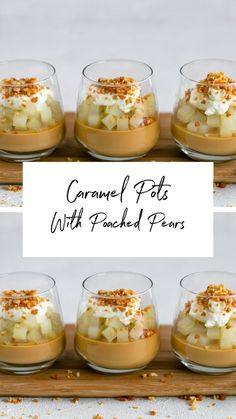 Healthy Desserts, Just Desserts, Delicious Desserts, Yummy Food, Tasty, Pudding Desserts, Sugar Cravings, Desert Recipes, Sweet Recipes