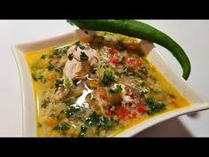 Ciorbă de pasare cu castraveți murați - surprinzator de delicioasă ce merită încercată măcar o dată - YouTube Supe, How To Cook Pasta, Cheeseburger Chowder, Thai Red Curry, Cooking, Ethnic Recipes, Youtube, Food, Kitchen