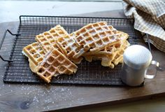 Recette de Gaufres à la vanille   Solo Open Kitchen