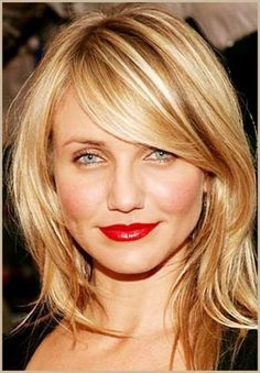 Ideas hair color highlights shoulder length side bangs for 2019 Haircuts Straight Hair, Layered Haircuts, Hairstyles With Bangs, Fringe Hairstyles, Hairstyle Ideas, Fashion Hairstyles, Trendy Hairstyles, Hair Ideas, Medium Length Hair With Layers