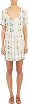 Ace & Jig Diamond-Pattern Shop Dress at Barneys New York