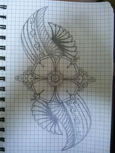 First doodle in my new doodle book...cg.
