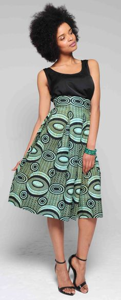 See. Like. Share. www.sapelle.com african print outfit wax dress