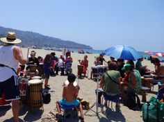 Torrance Beach Drum Circle  ##‎southbay #‎Events #‎Beach  #‎Music #‎WhatsHappeningInTheSouthBay