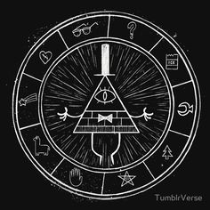 Gravity Falls Bill Cypher tshirt