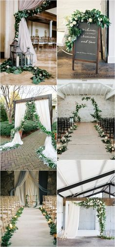 elegant green and grey wedding ideas #weddingdecor #elegantwedding #weddingcolors #weddingideas #greenwedding