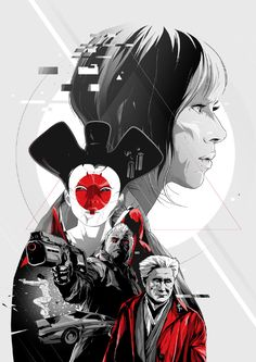 Ghost in the Shell - Created by Harijs Grundmanis