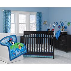 Disney Baby Mickey Mouse Best Friends 3-Piece Crib Bedding Set