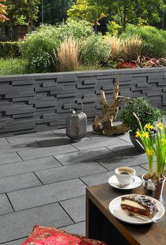 Basalo-Mauern bieten in Ihrem Garten eine unverwechselbare Optik!