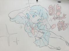 """""""@oyashiro_return: @sushio_ """"@yumeka_01: 無星極制服と鮮血ちゃん! http://twitter.com/yumeka_01/status/578889842630660097/photo/1pic.twitter.com/KZaI85h997""""""""鮮血ちゃんと一緒!!"""