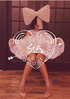 I love Sia! People need for stop telling her to die and that she's a terrible person! She is a great person and she is a great singer!