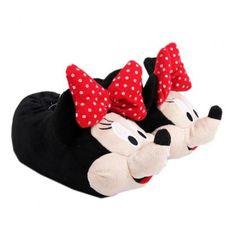 Papuci de casa model Minnie Mouse