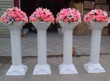 Columns with flowers for alter greek goddess wedding pinterest china supplier plastic wedding pillars white roman column event decorationschina mainland solutioingenieria Image collections