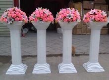 Wedding Venue Decorations Columns And Candles On Pinterest