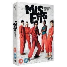 Misfits - Series 1 and 2 Box Set Adult humor.
