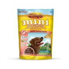Zuke's Mini Naturals Dog Treats Savory Salmon Recipe, 16-Ounce - http://www.thepuppy.org/zukes-mini-naturals-dog-treats-savory-salmon-recipe-16-ounce/