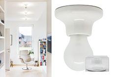 porcelain lamp holder | Zangra.com for living room wall
