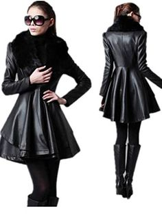 YABEIQIN Women's Long Slim Leather Jacket Skirt Leather Trench Coat Windbreaker Fur (XS) YABEIQIN http://www.amazon.com/dp/B00NDVGGX8/ref=cm_sw_r_pi_dp_MS.0vb0XFHHCJ