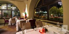 Bellevue in Prague- a restaurant with a view of Prague Castle right across the Vltava River. Wonderful food and service- a truly magical evening.