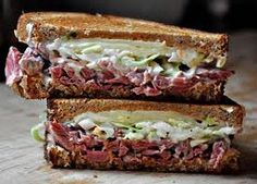 I love reuben sandwiches...to increase the fiber, would switch out the rye bread ... always surprises me rye isn't higher in fiber. Gonna try this!!!