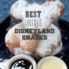 Mickey-Beignets-with a Mint Julep is my favorite. Hand down. The corn dogs are a must. Looking forward to trying the Matterhorn macaroon...never seen it.