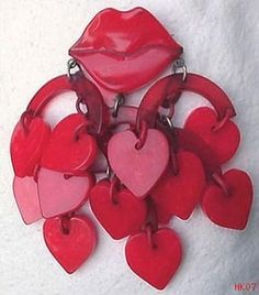 Gorgeous Valentine's something or other??  Earrings perhaps.