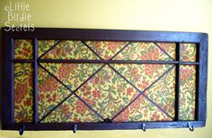 Altered Window Message Board - Make and Takes