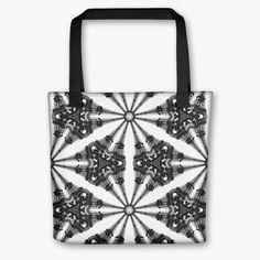Paris - Eiffel Tower Kaleidoscope - Tote Bag