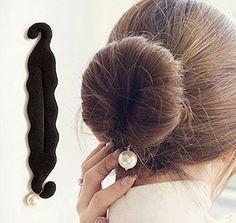 Peachy 2Pcs Beauty Hair Hairstyle Sponge Foam Bun Holder Maker Clip Short Hairstyles For Black Women Fulllsitofus